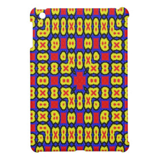 Geometric abstract pattern case for the iPad mini