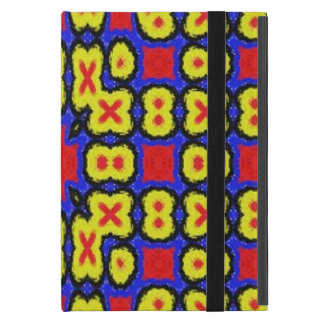Geometric abstract pattern cover for iPad mini