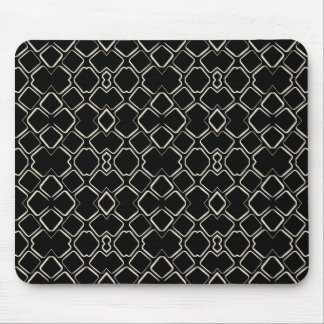 Geometric Abstract Pattern Futuristic Design Mouse Pads