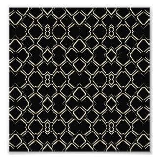 Geometric Abstract Pattern Futuristic Design Photo