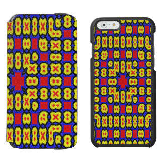 Geometric abstract pattern incipio watson™ iPhone 6 wallet case