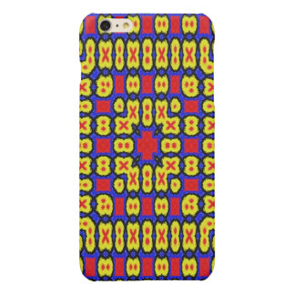Geometric abstract pattern iPhone 6 plus case
