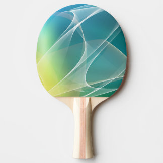 Geometric Abstract Ping Pong Paddle