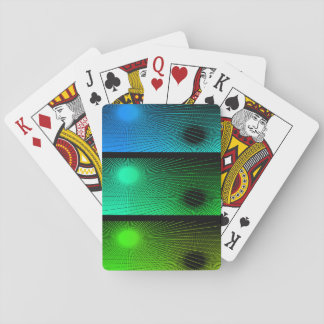 Geometric abstract. playing cards