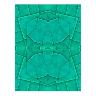 Geometric Abstract Postcard