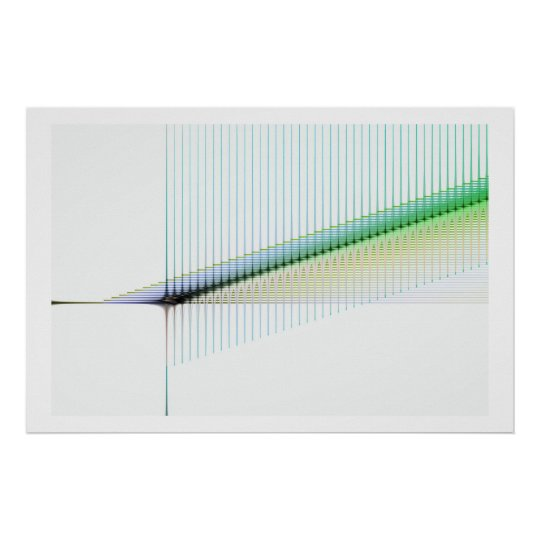 Geometric Abstract Poster