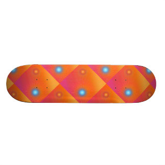 Geometric abstract. skate deck