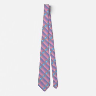 Geometric abstract. tie