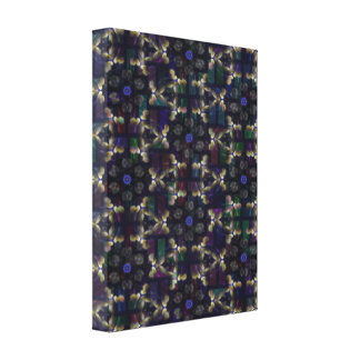 Geometric Abstract  Wrapped Canvas