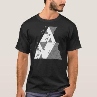 Geometric Algorithmic Triangle Math T-shirt