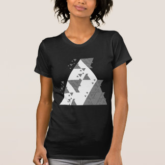 Geometric Algorithmically created Trnagle T-shirt