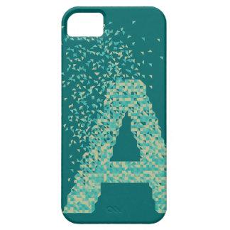 Geometric Alphabet - A iPhone 5 Covers