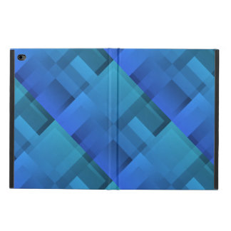 Geometric Art Blue Blocks