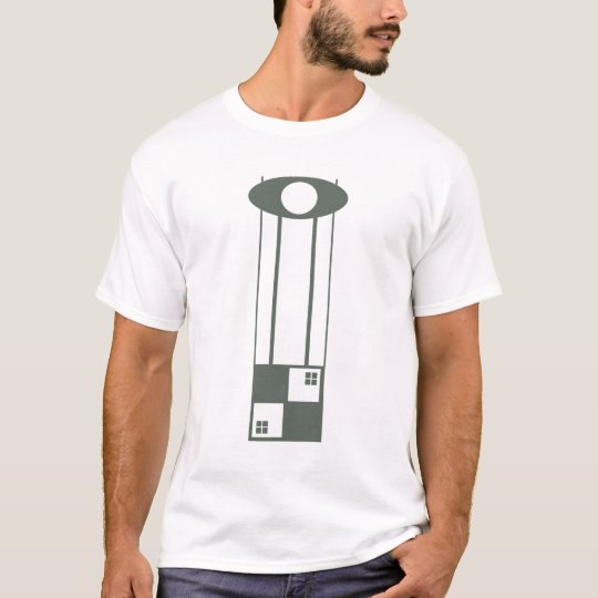 Geometric Art Nouveau Design T-shirt