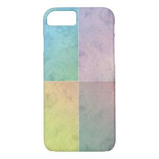 Geometric Art Watercolor Squares Colorful Pastel iPhone 7 Case