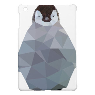 Geometric Baby Penguin Print Cover For The iPad Mini