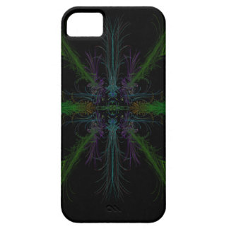 Geometric background barely there iPhone 5 case