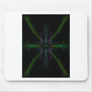 Geometric background mouse mat