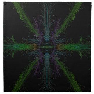 Geometric background napkin