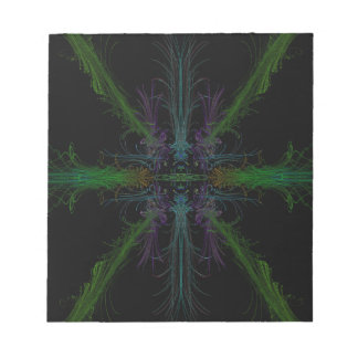 Geometric background notepad