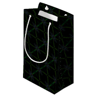 Geometric background small gift bag