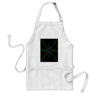 Geometric background standard apron