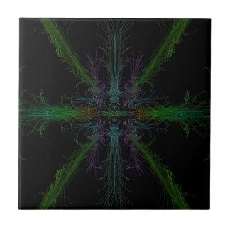 Geometric background tile