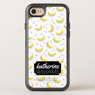 Geometric Bananas | Add Your Name OtterBox Symmetry iPhone 8/7 Case