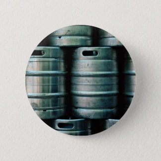 Geometric beer barrels, Czech Republic 6 Cm Round Badge