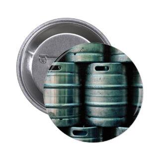 Geometric beer barrels, Czech Republic 6 Cm Round Badge