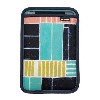 Geometric Blocks iPad Mini Sleeve
