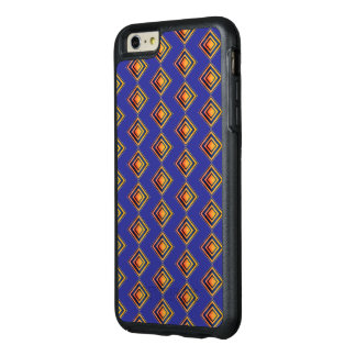 Geometric Blue Pattern OtterBox iPhone Case