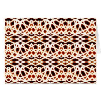Geometric Blur Greeting Card