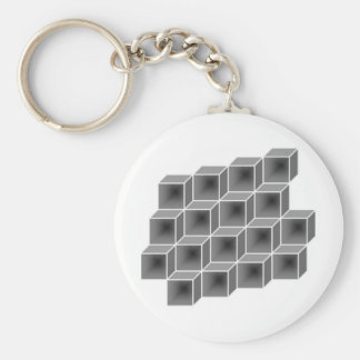 geometric boxes keychains