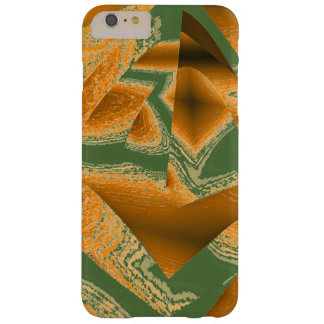 Geometric Brown over Green iPhone 6 Plus cover Barely There iPhone 6 Plus Case