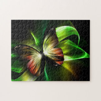 Geometric Butterfly Puzzle