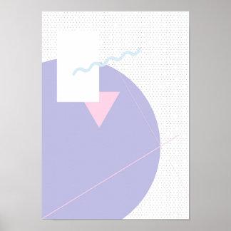 Geometric Calendar Day 1 - A3 Poster