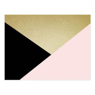 Geometric Cards Blank Stationery Postcard