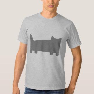 Geometric Cat T-Shirt