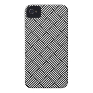 Geometric checked texture Case-Mate iPhone 4 case