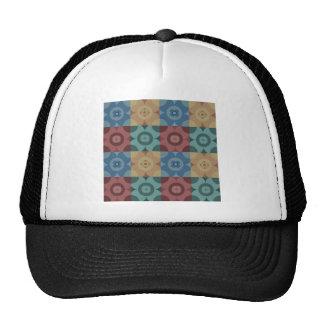 Geometric Circle Repeatable Pattern Cap