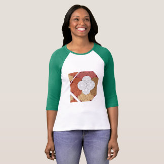 geometric colored women t-shirt