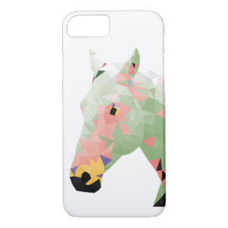 Geometric Colorful Horse iPhone 7 Case
