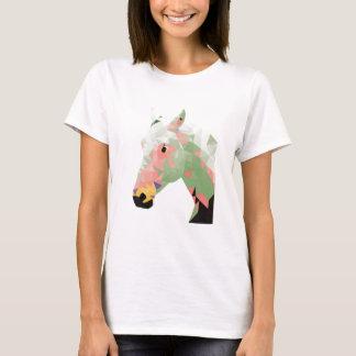 Geometric Colorful Horse T-Shirt
