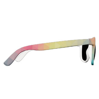 Geometric colors sunglasses