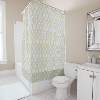 Geometric Colours Shower Curtain