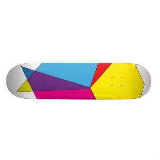 Geometric Colours Skateboard Deck