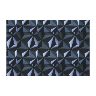 Geometric Coolness Gallery Wrapped Canvas