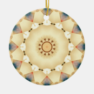 Geometric Country Sunshine Patchwork Ornament