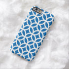 Geometric Dazzling Blue iPhone 6 case